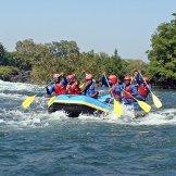 Erlebnisgutschein: Rafting - für Einsteiger in Sitten (1 Stunde) | meventi Geschenkidee -