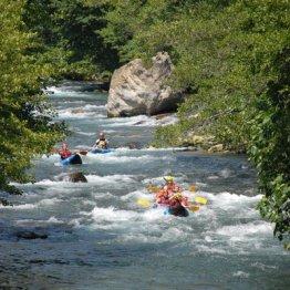 Erlebnisgutschein: Rafting - im Canadier in Schneizlreuth | meventi Geschenkidee -