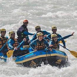 Erlebnisgutschein: Rafting und Mountainbike-Tour in Haiming / Ötztal | meventi Geschenkidee -