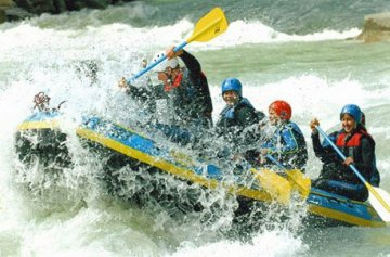 Geschenkgutschein: Extrem-Rafting im ötztal -