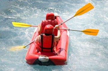 Geschenkgutschein: Power-Rafting bei Kiefersfelden -