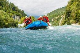 Geschenkgutschein: Rafting Doppeltour im ötztal -