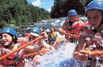 Geschenkgutschein: Rafting Tour (1/2 Tag) -