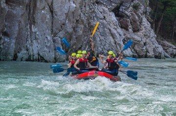 Geschenkgutschein: Rafting Tour Entenlochklamm -