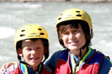 Geschenkgutschein: Rafting Tour für Groß & Klein in österreich -