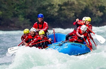Geschenkgutschein: Wildwasser-Rafting im 3er-Boot im ötztal -