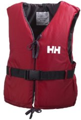 Helly Hansen Unisex Rettungsweste Sport II, Rot/Ebony, 60/70, 33818_164 -