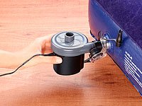 infactory Elektrische Luftpumpe mit variabler Stromversorgung, 12/230V -