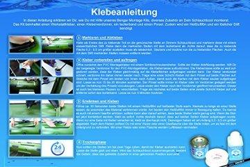 Kleber Kit für Schlauchboote: PVC Kleber + Kleberverdünner + Pinsel + Klebeband -