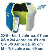 Mares Kinder Schwimmweste Schwimmhilfe Floating Jacket Kids (lime, XXS - 0-1 Jahr (bis ca. 11kg)) -