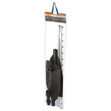 Paddel 244cm 5tlg Alu/PVC 2 Alu-Rohre 85cm, i Btl. [Spielzeug] -