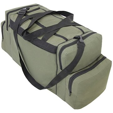 XXL Angeltasche Rutentasche Reisetasche Gerätetasche Ködertasche Zubehörtasche Angel Grün NEU -
