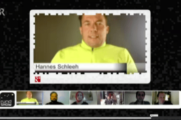 Hannes Schleeh in der Rundshow des BR