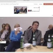 Fragen aus dem Internet direkt via Chat in die Live Diskussion