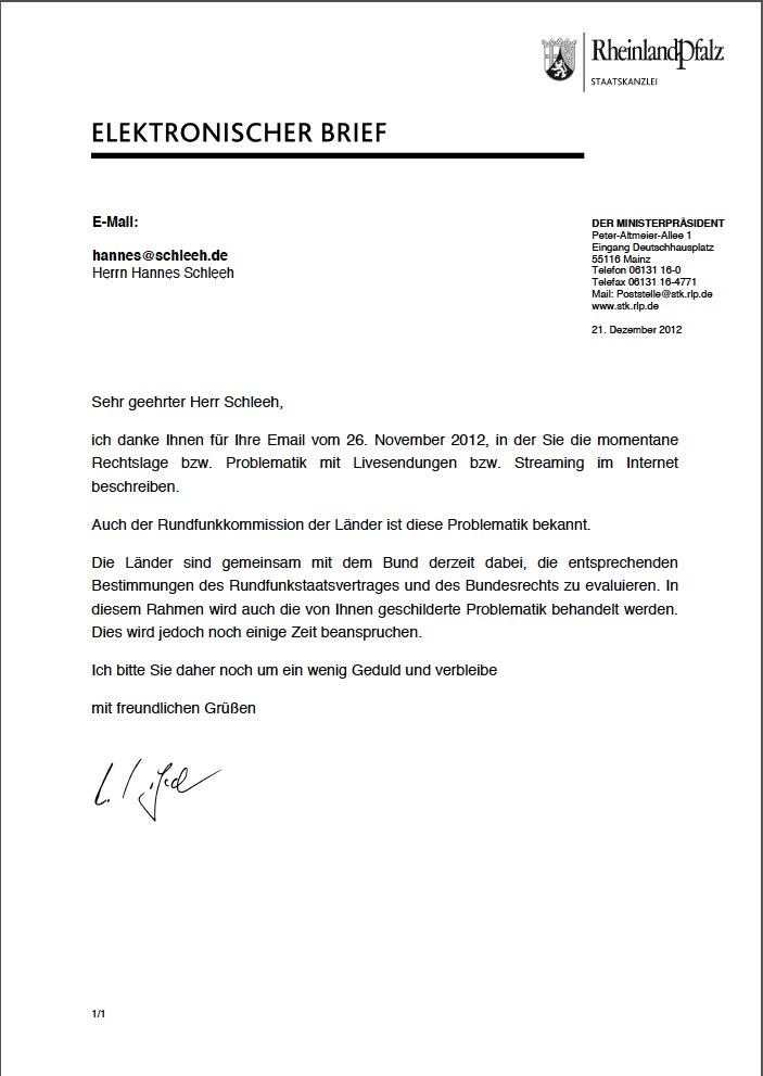 Antwort Staatskanzlei Rheinland-Pfalz 21.12.12