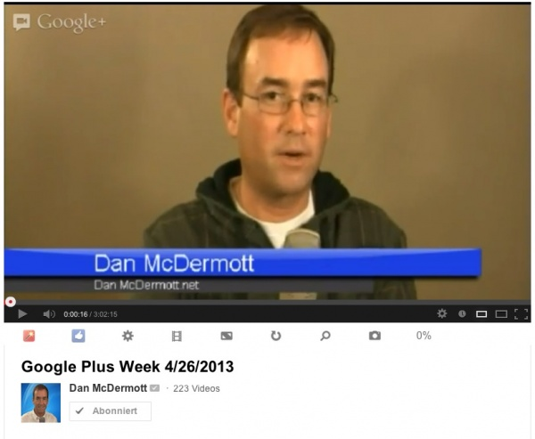Dan McDermott ohne Greenscreen Screenshot Youtube