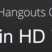 Hangout on Air in High Definition