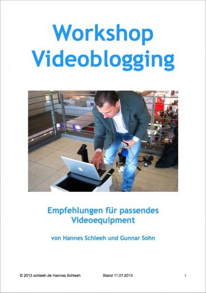 Videoblogging Einkaufsliste
