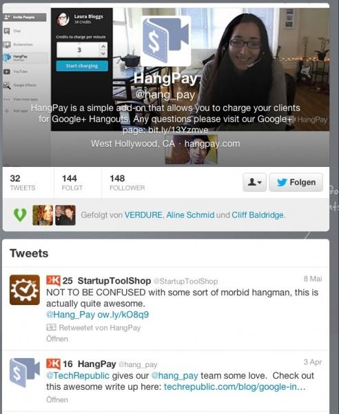 Hangpay Twitter