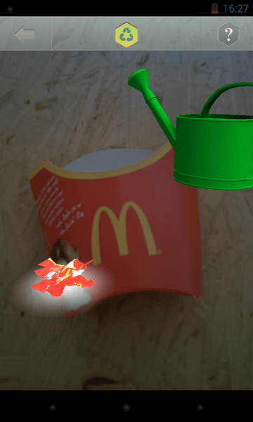 McMission AR-Game von McDonalds