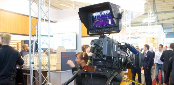 Kameramonster der Öffentlich-Rechtlichen Sender auf der CeBit 2013