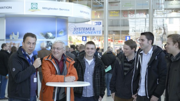 Good Morning AGRITECHNICA Interview mit Landwirten Foto: Tobias Hoops