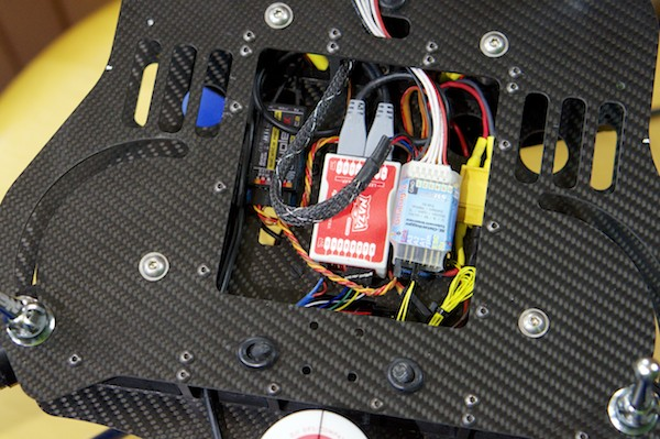Multikopter Steuerungselektronik Foto: Schleeh