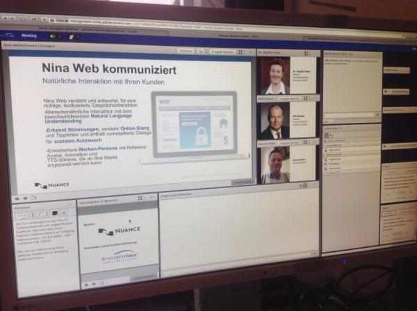 Webinar am Computer Foto Gunnar Sohn