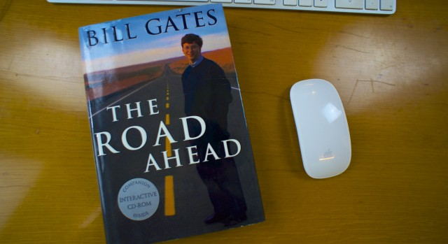 Buchtitel Bill Gates The Road Ahed 1