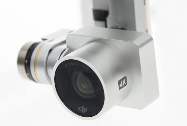 Kamera DJI Phantom 3 mit 12 Megapixel Foto und 4K Film