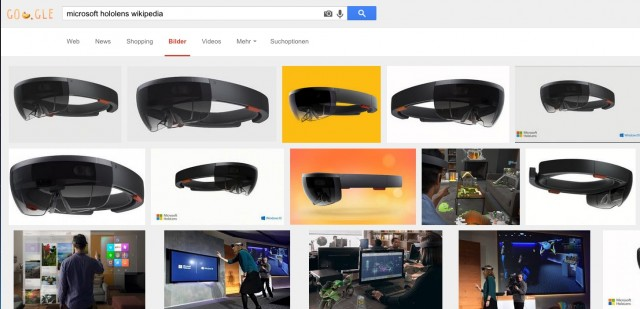 Suchergebnis Microsoft Hololens