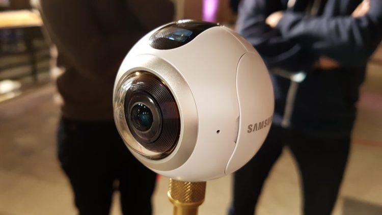 Samsung Gear 360 Austausch Defekter Linsenabdeckungen