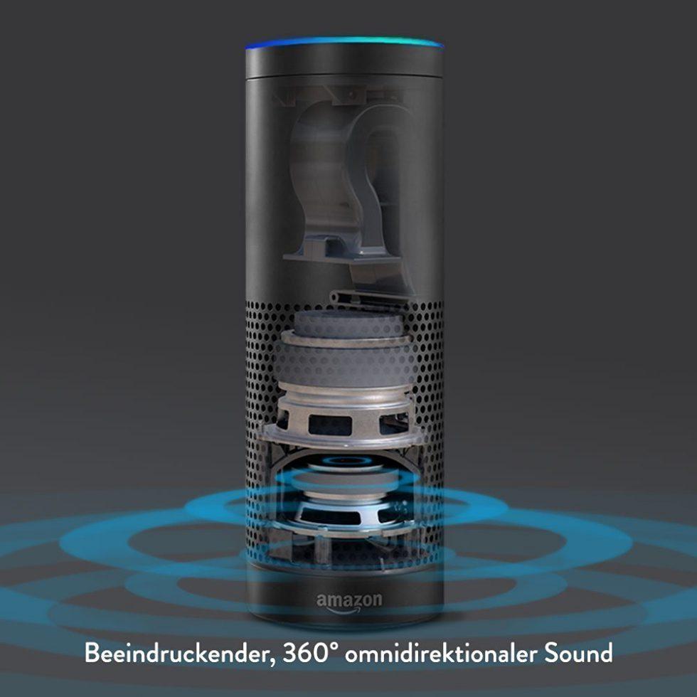Amazon Echo Innen Ansicht Foto Amazon