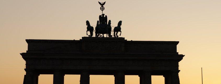Brandenburger Tor Berlin Foto: Schleeh