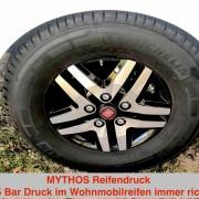 Der richtige Reifendruck im Wohnmobil Reifen
