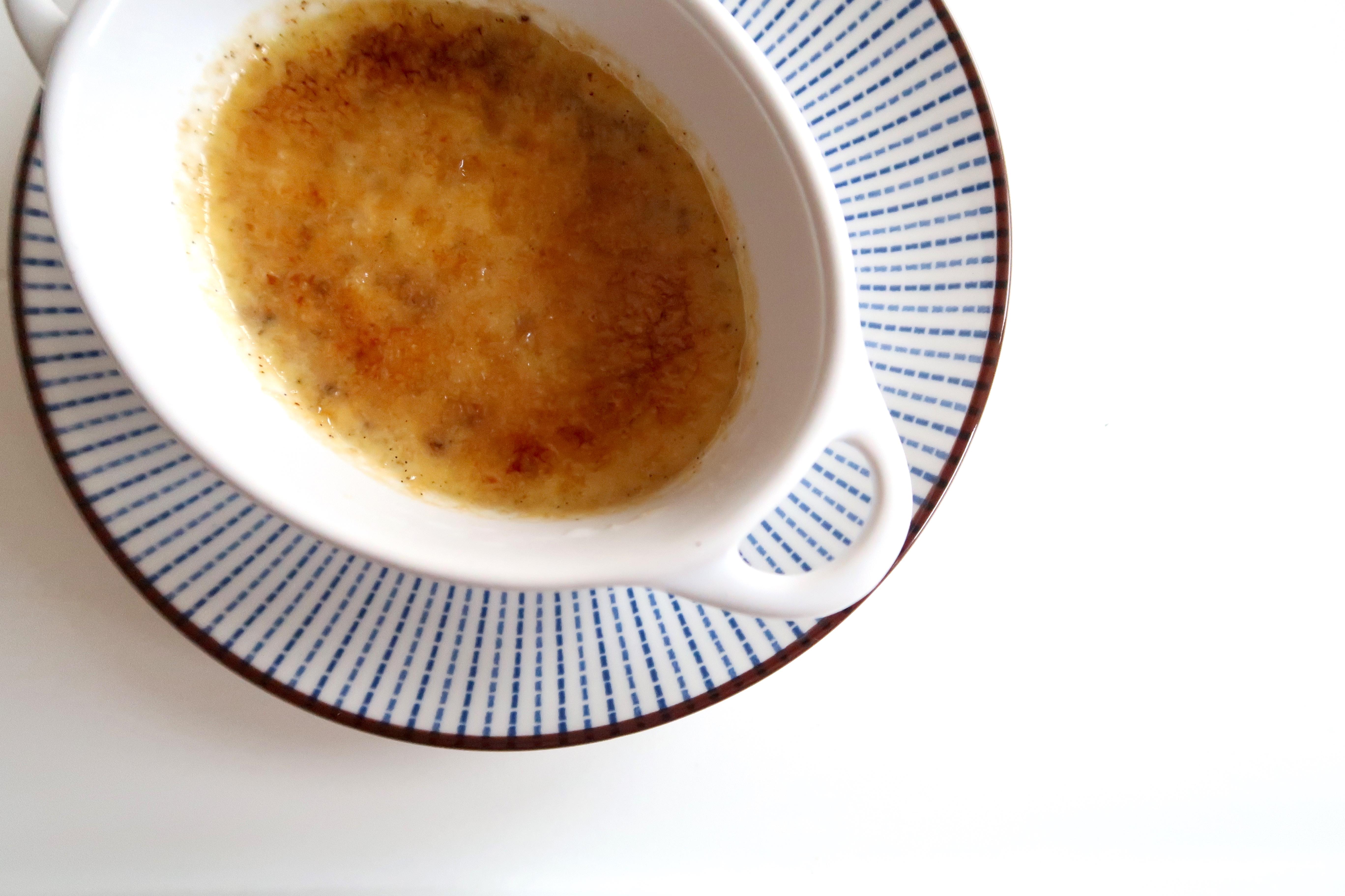 Crème Brulée von der Tonkabohne