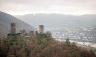 Burg Thurant vom Bleidenberg aus gesehen