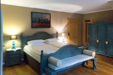 Unser Hotelzimmer im Schäferhof