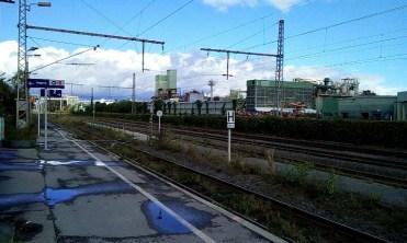 Bahnhof im Nirgendwo