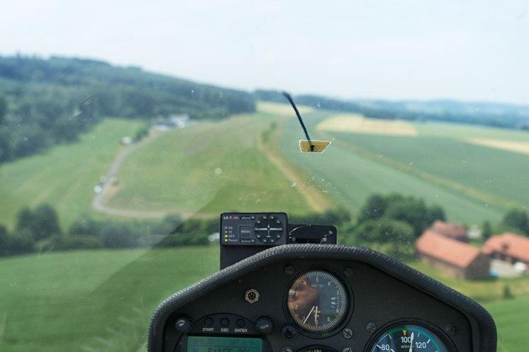 Gerade Landung
