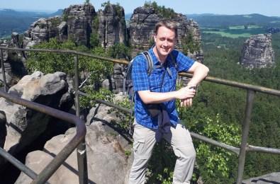 Auch der Osten will erwandert sein: Auf den Schrammsteinen in der Sächsischen Schweiz