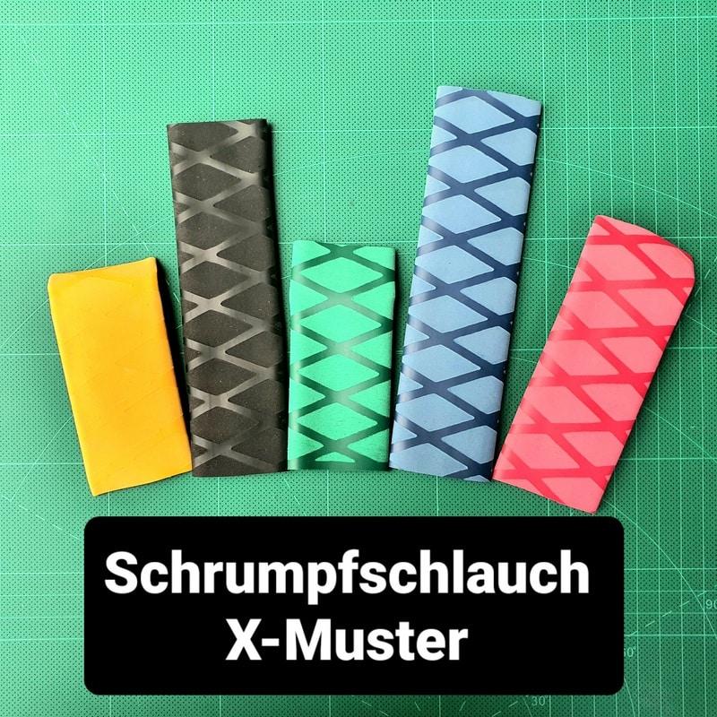 X Schrumpfschlauch Angelrute