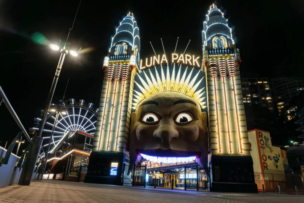 Luna Park Sydney, Austalia