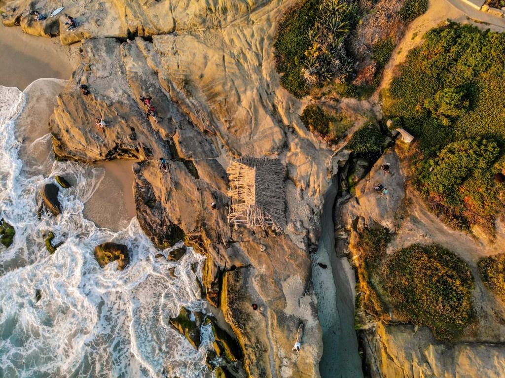 Windansea Surf Shack from above