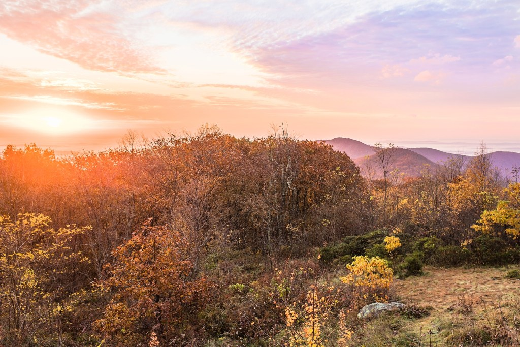 The Most Photogenic Sunrise and Sunset Locations in the Shenandoah National Park