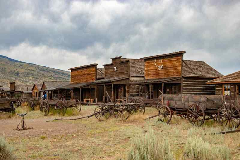 Old Trail Town Cody Wyoming