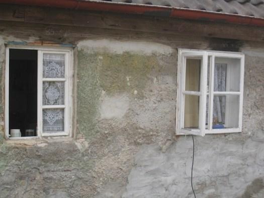 Bis 2009 noch mit den alten Holzfenstern