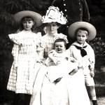 Familienfoto der von Heimburgs (© Heimat- und Geschichtsverein Rammelburg e. V.)