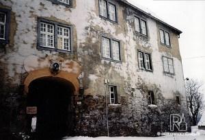 Nordostflügel von Außen mit Schlosstor