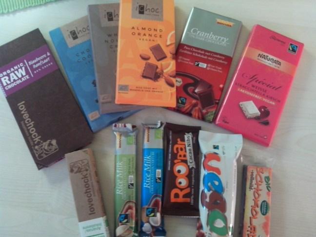 Vegane Schokolade Test